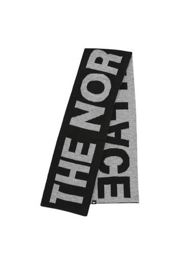 The North Face Logo Scarf Atkısiyah/Gri Renkli